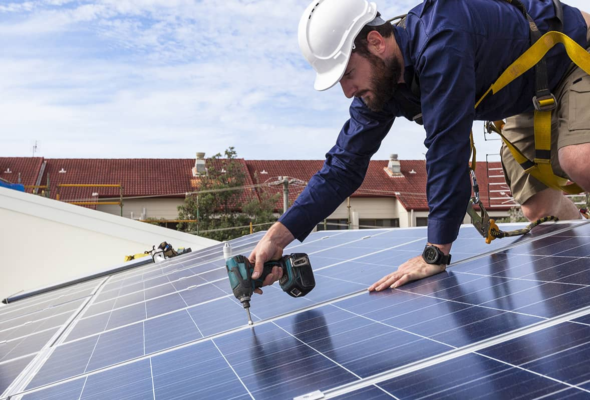 galvanized solar panels